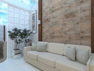 Residência P S: Cozinhas  por Giovana Lumertz Design de Interiores,Moderno