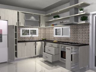 Muebles del angel Modern kitchen