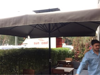 Akaydın şemsiye Eclectic style garden Slate Beige