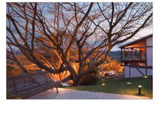 Casa de Campo Casas campestres por Luciana Savassi Guimarães arquitetura&interiores Campestre