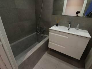 Baños de estilo  por SMMARQUITECTURA
