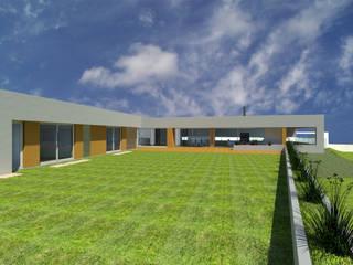 Albertina Oliveira-Arquitetura Unipessoal Lda Casas modernas
