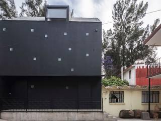 Casa Xomalli: Casas de estilo moderno por DMP Arquitectura