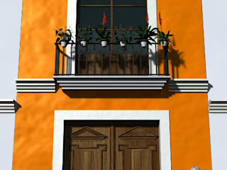 Colonial style house by SG Huerta Arquitecto Cancun Colonial