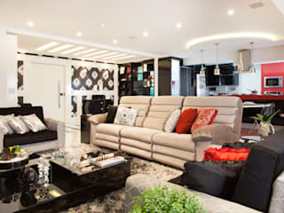 Living room by Ahph Arquitetura e Interiores, Modern