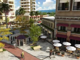 Desarrollo de proyectos : Casas de estilo moderno por Ambiente de diseño
