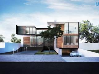 Residencia Arana - Zapopan, Jalisco: Casas de estilo  por Unikco Arquitectos