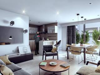 Venturi Residencial Cocinas modernas de IARKITECTURA Moderno