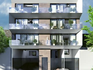 Venturi Residencial: Casas de estilo  por IARKITECTURA