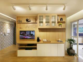 Apartamento Itararé por PAGAMA arquitetura + design Moderno