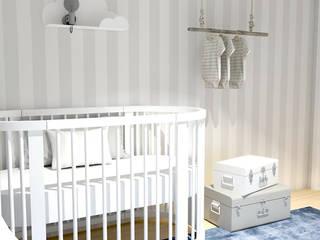 QUARTO DO RAFAEL Quartos de criança escandinavos por Tó Liss Escandinavo