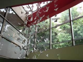 Colgantes mariposas origami de Brito Arte y Diseño Moderno