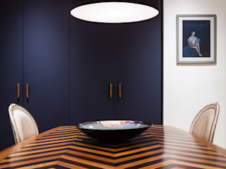 Zig Zag dining table:   by Wood'n design