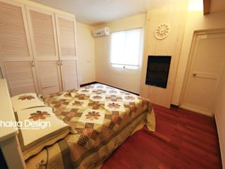 七輪空間設計PHONE AND LINE ID:0927945509 Country style bedroom