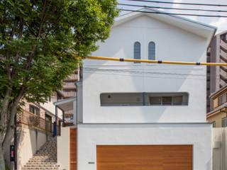 外観: 橋本健二建築設計事務所が手掛けた家です。