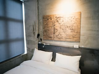 Hôtels industriels par 七輪空間設計 Industriel