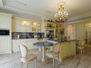 Classic style kitchen by Inan AYDOGAN /IA Interior Design Office Classic Wood Wood effect
