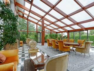 Inan AYDOGAN /IA  Interior Design Office – NG PALACE:  tarz Kış Bahçesi
