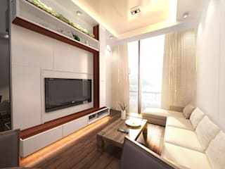 Minimalist living room by Much Creative Communication Limited Minimalist