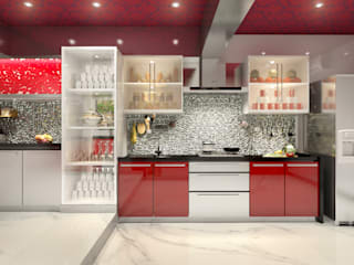 Lively Kitchen by AAMRAPALI BHOGLE Classic Glass