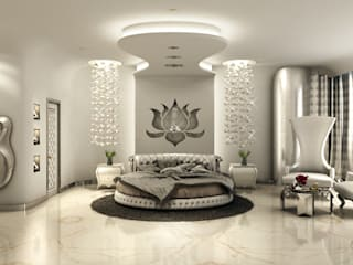 GRANDE Classic style bedroom by AAMRAPALI BHOGLE Classic