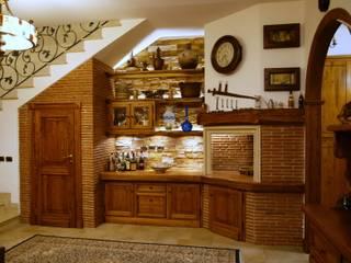 Gli Artigiani dei f.lli M.& S. Cordi snc SalasChimeneas y accesorios Madera