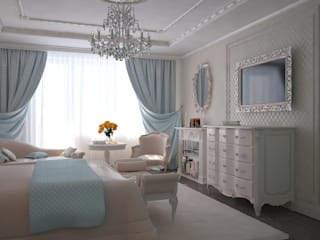 Bedroom by Дизайн бюро Оксаны Моссур