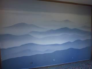 decorazione camera da letto di tiziano colombo Coloniale