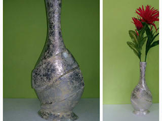 Flower Vases:   by Tonishka Decors