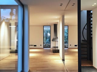 MM H: Soggiorno in stile in stile Minimalista di MM A | Massimiliano Masellis Architetti