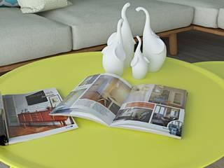 LIVING ROOM: Sala da pranzo in stile in stile Minimalista di Home-designer.it  Consulenza e Progettazione Interni