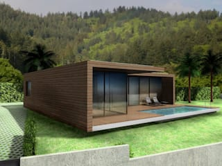 Moradia Santo da Serra Casas minimalistas por Desicon Desenho e Construção Civil lda Minimalista