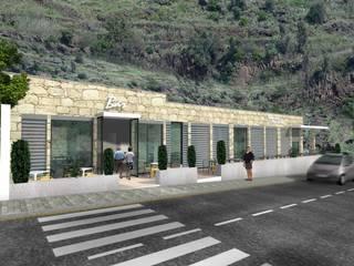 restaurante Espaços de restauração modernos por Desicon Desenho e Construção Civil lda Moderno