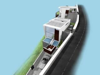 moradias unifamiliares Casas minimalistas por Desicon Desenho e Construção Civil lda Minimalista