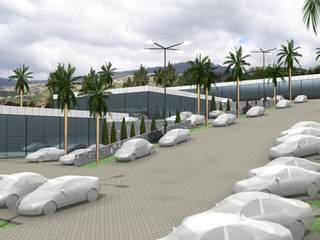 complexo comercial Espaços comerciais industriais por Desicon Desenho e Construção Civil lda Industrial