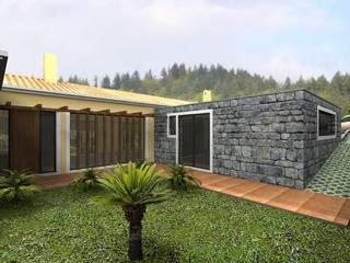 moradia isolada Casas campestres por Desicon Desenho e Construção Civil lda Campestre