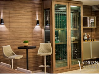 Modern Home Wine Cellar by Adriana Di Garcia Design de Interiores Ltda Modern
