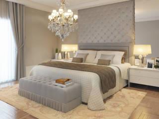 Dormitorios de estilo clásico de STUDIO GUTO MARTINS Clásico