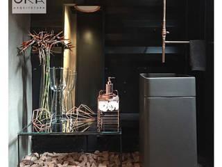 Industrial style bathrooms by Alessandra Orsi - Studio OKA Arquitetura Industrial