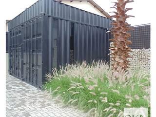 Industrial style study/office by Alessandra Orsi - Studio OKA Arquitetura Industrial