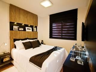 Apartamento em Rio do Sul/SC: Quartos  por TODDO Arquitetura e Engenharia,Moderno