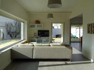 Salon de style  par FORA Arquitectos, Moderne