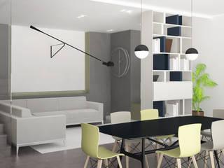 Progettazione cucina e sala da pranzo:  in stile  di scalvini luca design