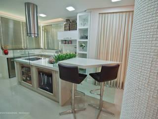 Apartamento em Rio do Sul/SC: Cozinhas  por TODDO Arquitetura e Engenharia,Moderno