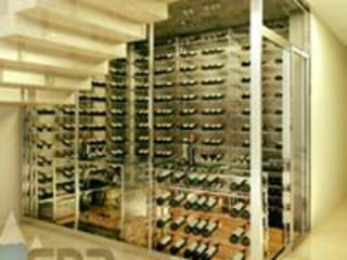 EDR - Adegas Climatizadas Wine cellar Glass Transparent