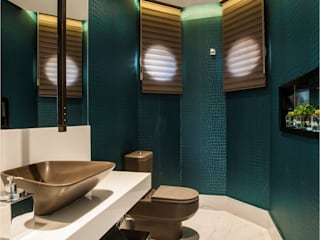 Modern Bathroom by Adriana Di Garcia Design de Interiores Ltda Modern