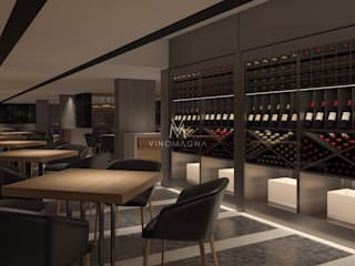 by Vinomagna - Bespoke Wine cellars
