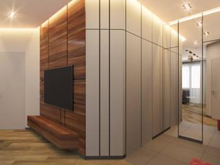 Прихожая: Коридор и прихожая в . Автор – Архитектурно-дизайнерская компания Сергея Саргина