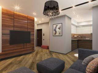 Гостиная: Гостиная в . Автор – Архитектурно-дизайнерская компания Сергея Саргина