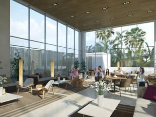 ระเบียง, นอกชาน โดย TaAG Arquitectura, โมเดิร์น
